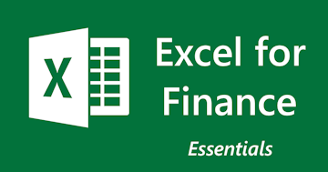 Excel for Finance - Essentials